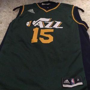 Utah Jazz Derrick Favors alternate jersey